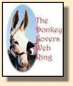 Donkey Lovers Web Ring Image (6712 bytes)